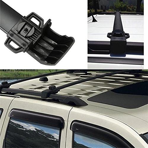Auxmart 2Pcs Cross for Jeep Compass Side Bars