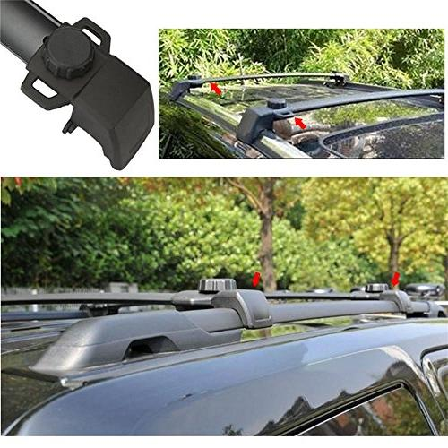 Auxmart Roof Cross for Compass 2011-2014 Vertical Side Bars