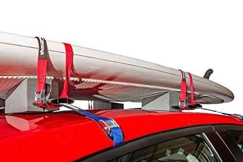 SportRack Adjustable Kayak Carrier, 24-Inch, Black
