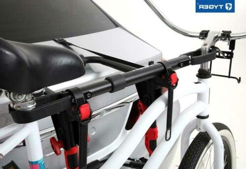 Tyger TG-RK1B108B Bike Top Bar Telescopic