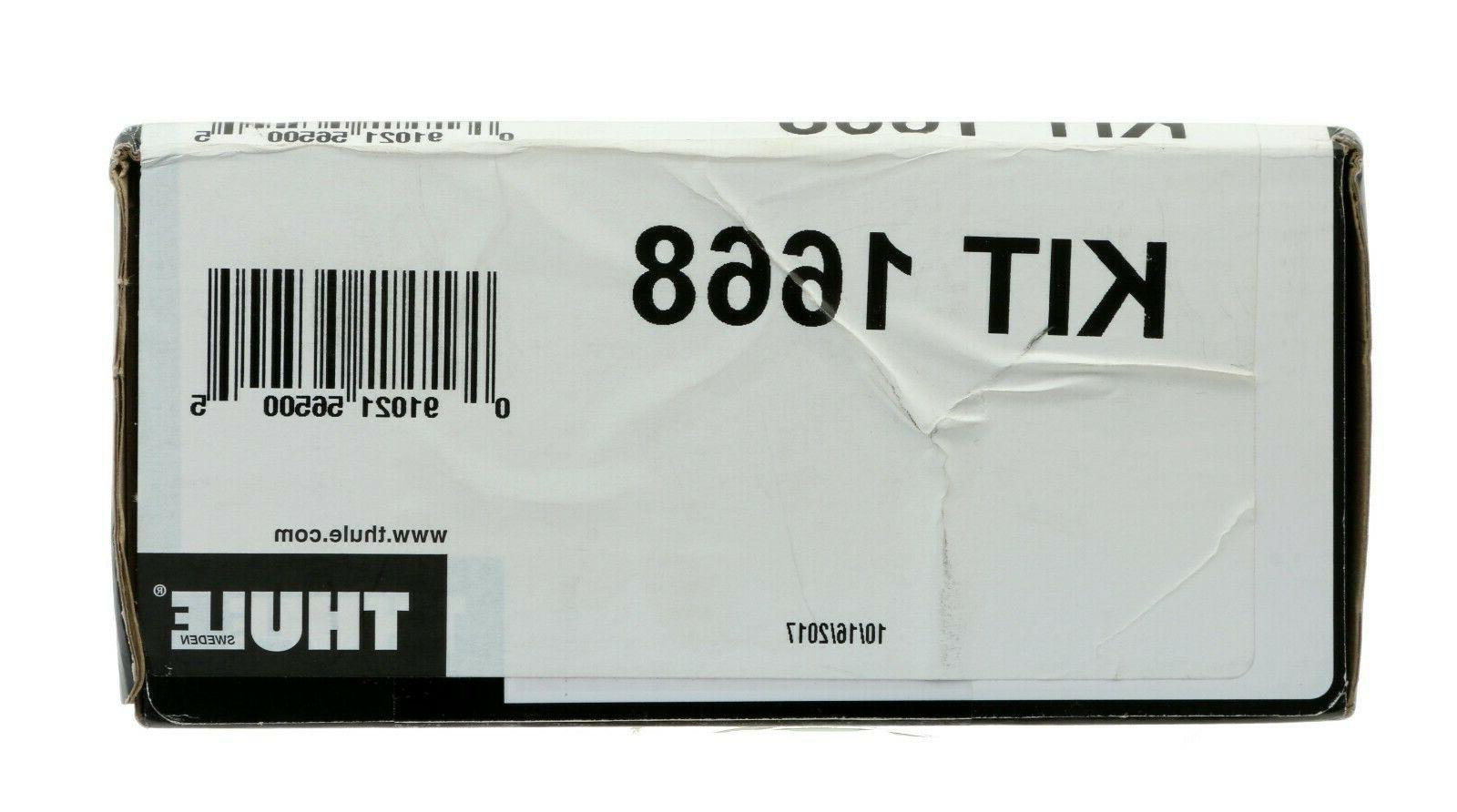 traverse roof rack fit kit 1668 toyota