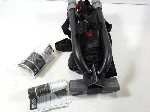 ultra compact folding 1 bike trunk mount