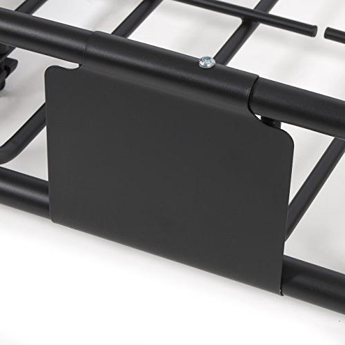 """ARKSEN© 64"""" Roof Extension Car Holder Carrier Basket"""