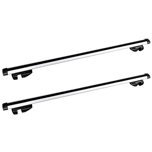 """Yescom 48"""" Car Top Roof Rack Roof Cargo Carrier 1 Pair"""