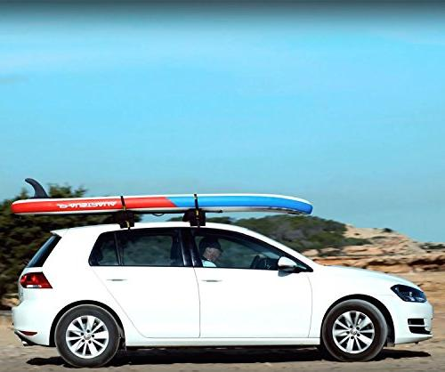 Stanley Universal Rack Carrier System – Includes 2 Heavy Duty Down Anti Vibration Kayak SUP & Other