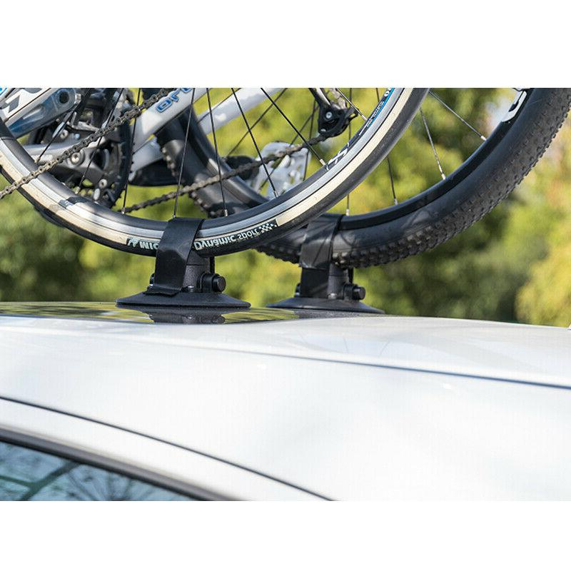 RockBros Suction Rooftop Bike Cycle Rack 2-Bikes