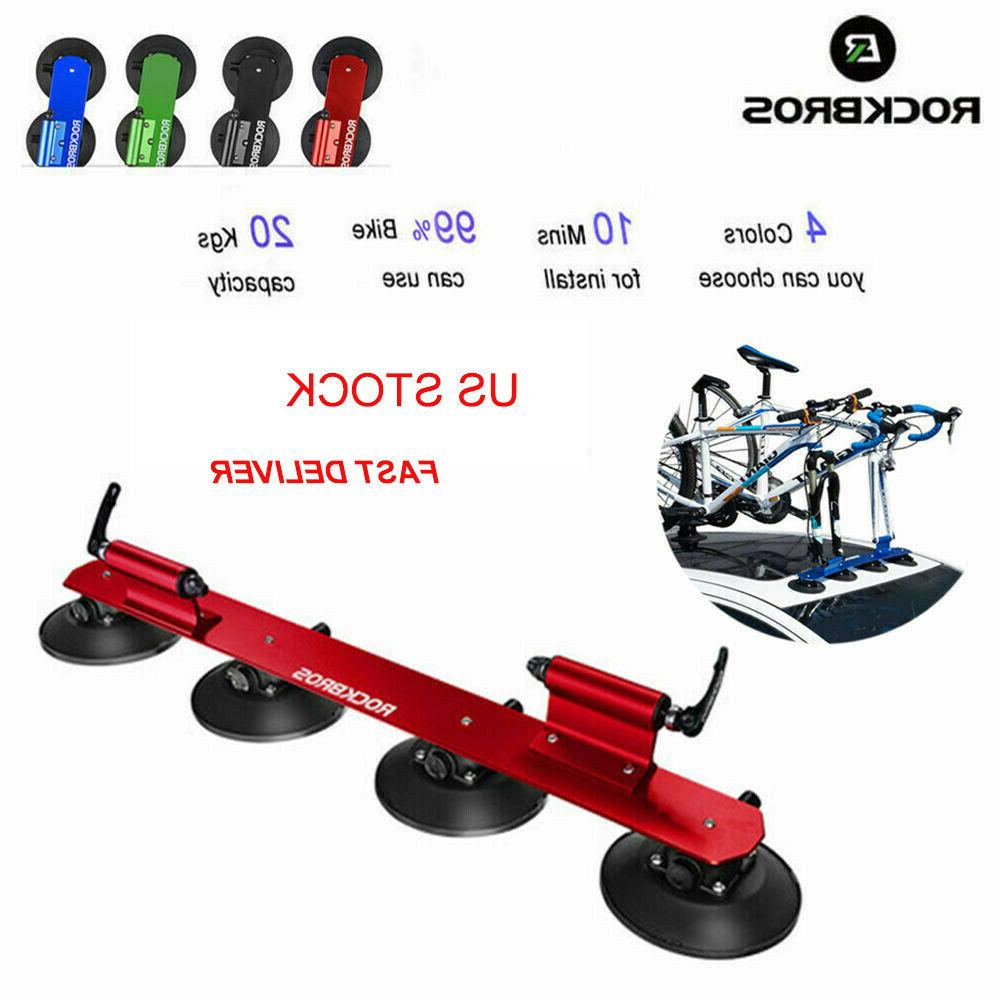 universal car roof rack suction rooftop bike