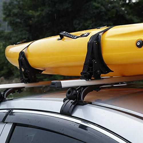 AUXMART Saddle for Roof Racks - Also Paddleboards