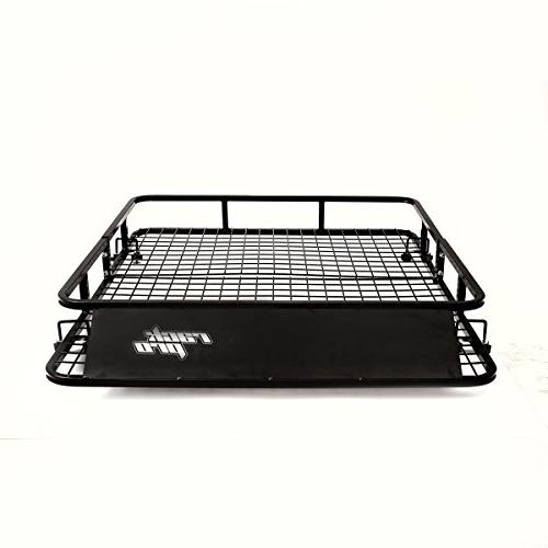 "Goplus Roof Basket Carrier Cargo 48"" 40"""