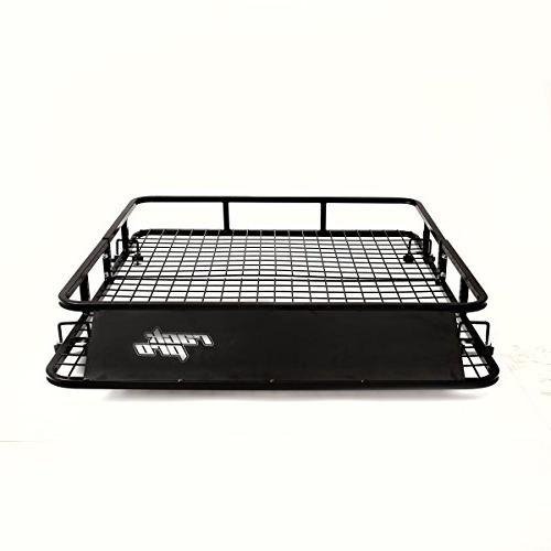 "Goplus Roof Basket Carrier Cargo 48"" 40"""