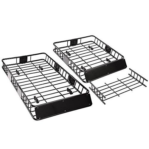 "Yescom 64"" Rack Basket Extension Luggage Holder"