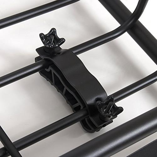 ARKSEN 250LB Universal Roof Rack Top Carrier SUV Holder
