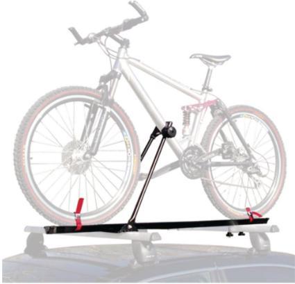 upriht roof rack bike rack for 1