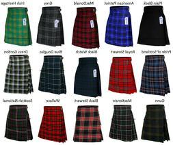 Men's Scottish Kilts Tartan Kilt 13 oz Highland Casual Kilt