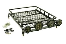 Gadget Place Metal Roof Rack / Luggage Storage Basket with L
