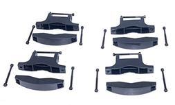 Rooftop SnowRack Plus Ski Rack for Cars Fits 6 Pairs Skis or