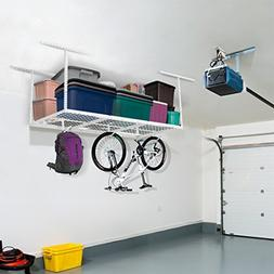 FLEXIMOUNTS 3x6 Overhead Garage Storage Adjustable Ceiling S