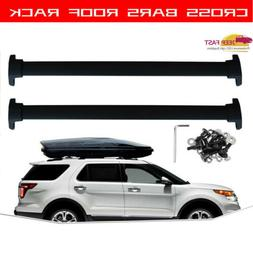 Pair Car Top Roof Rack Ski Snowboard Carrier Mount For 4 Sno
