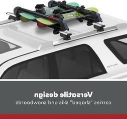 YAKIMA PowderHound 6 Ski or 4 Snowboard Car Roof Rack Univer