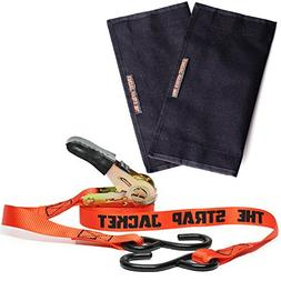 Ratchet Tie Down Straps | 2 Ratchets and 2 Jackets Combo Pac