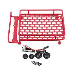 Cocal Roof-rack 1:10 RC Cars Roof Luggage LED Light Remote C
