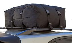 OxGord Roof Top Cargo Rack Waterproof Carrier Bag for Vehicl