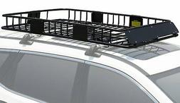 Leader Accessories Roof Rack Cargo Basket with 150 LB Capaci