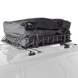 Rage Powersports 3pc Roof Rack Cargo Kit Roof Basket, Load B