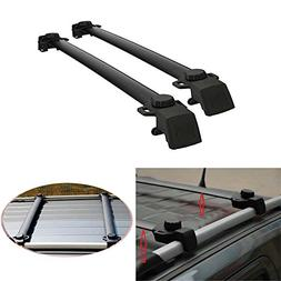 Auxmart 2Pcs Roof Rack Cross Bars for Jeep Compass 2011-2014