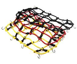 Roof Rack Elastic Luggage Cargo Net & Hook For 1:10 AXIAL SC
