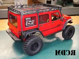 RCDM Roof Rack For The Axial 2017 Jeep Wrangler Unlimited CR