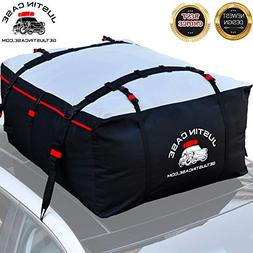 Roof Bag - Car Top Carrier - 19 Cubic Feet – Heavy Duty, W