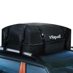 BougeRV Roof Top Cargo Bag Rack Carrier Waterproof Rooftop C