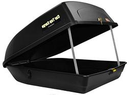 Car Top Cargo Rooftop Cargo Box - 18 cu ft - Black CTC-18S