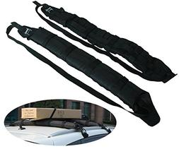 IZTOSS Self Inflatable Car Roof Rack - Ski Rack/Snowboard /