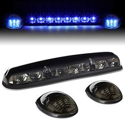 For Silverado/Sierra GMT800 LED Cab Roof Top Center Running
