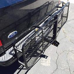 "US-Auto 60"" Steel Folding Luggage Basket Cargo Carrier Truck"