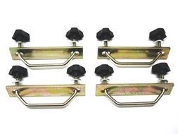 Rhino Rack Steel Mesh Basket/Tray U-bolt Fitting Kit for Rhi