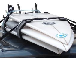 Surfboard Soft Rack LOCKDOWN Premium Surfboard Car Racks by