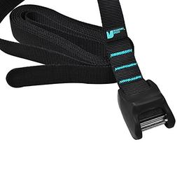 Tie Down Straps Cambuckle Amarres de Carga Heavy Duty 10 ft,