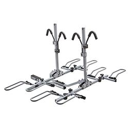 SportRack 4-Bike Tilting Platform Hitch Rack - Granite Gray