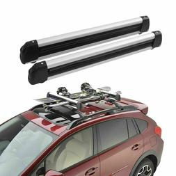 Universal Car Roof Rack Carriers Carry Holder for 4 Snowboar