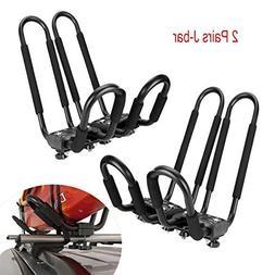 Egreaten Universal Kayak Rack Holder J Bar, 2 pairs-Bar HD K