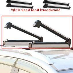 Universal Roof Mount Snowboard Car Rack fits 4/6Snowboards S