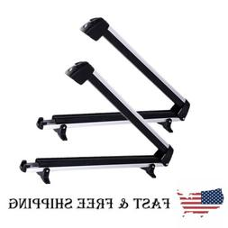 Universal Roof Mount Snowboard Car Rack fits 4 Snowboards, S