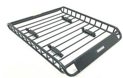 Universal Roof Rack Basket Car Truck Luggage Carrier Cargo H