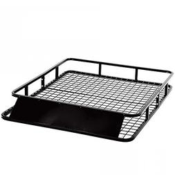New Universal Roof Rack Basket Holder Travel Car Top Luggage