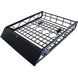 Universal Roof Rack Cargo Car Top Luggage Carrier Basket Sto