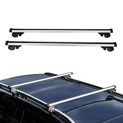 AUXMART Universally Roof Rack Crossbars Fit Most Vehicle Car