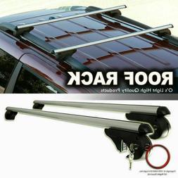 "Vault Roof Luggage Rack Crossbars 54"" Universal Travel Stora"